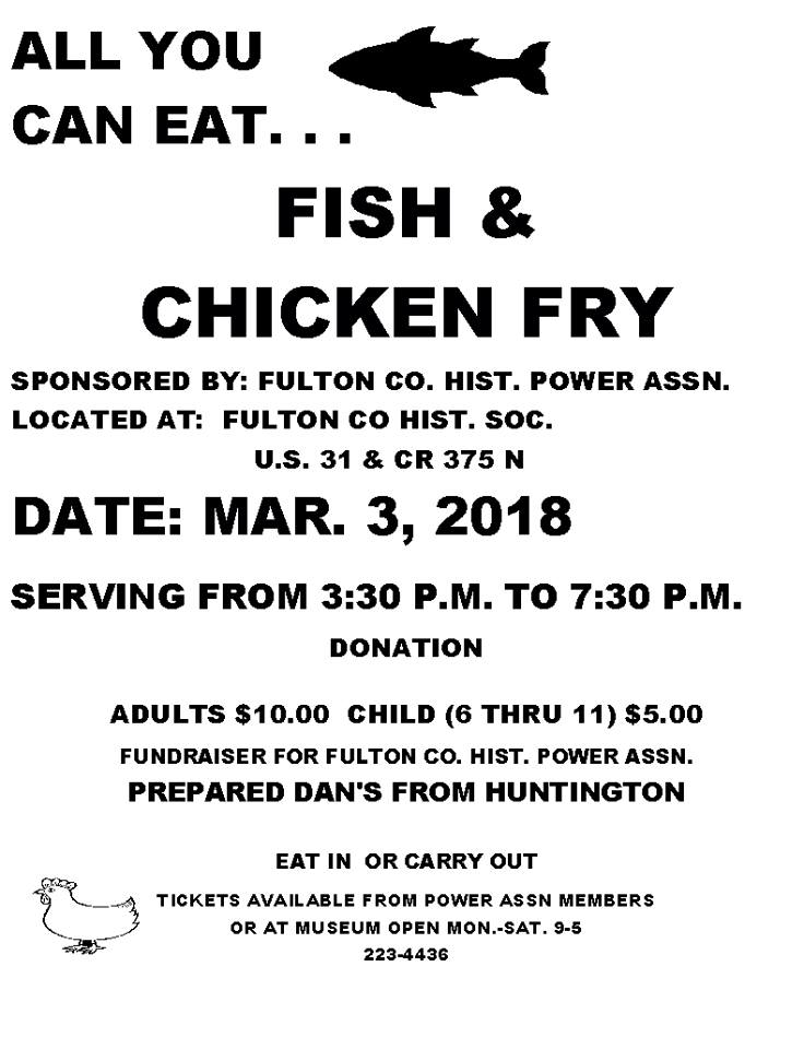 all you can eat fish and chicken fry cass county calendar