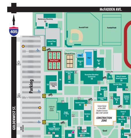 Gwc Campus Map 101 Cups   Joseph Foster