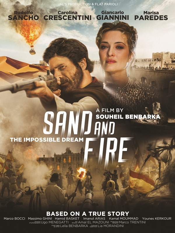 Sand and Fire Poster - Opening Night World Premier