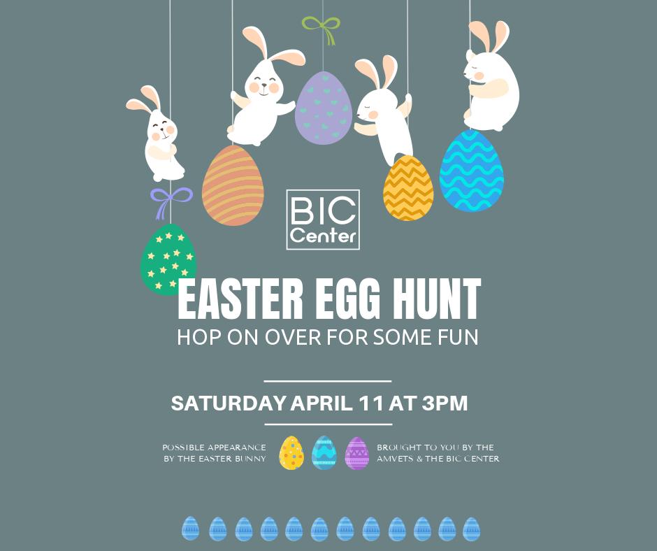 Easter Egg Hunt @ Beaver Island Community Center