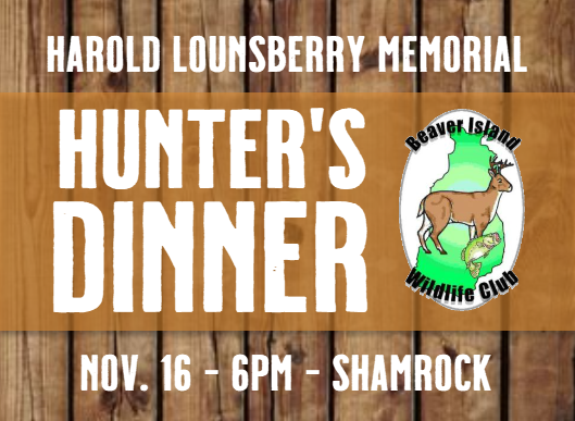 Hunter's Dinner @ Shamrock Bar & Restaurant