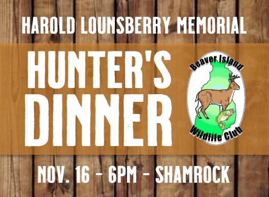Hunter's Dinner @ Shamrock Bar & Restaurant