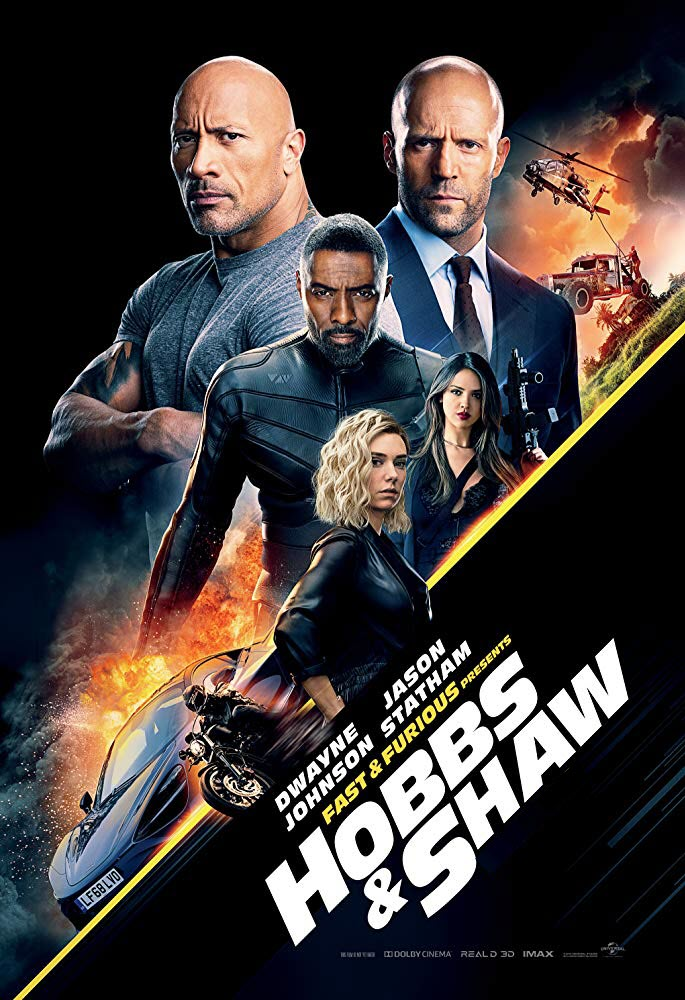 Fast & Furious Presents: Hobbs & Shaw @ Beaver Island Community Center
