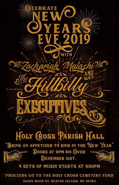 New Year's Eve Dance & Celebration @ Holy Cross Hall