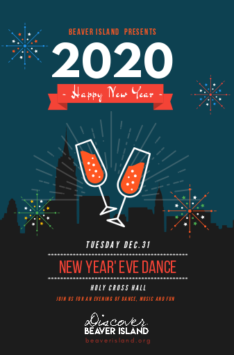 New Year's Eve Dance & Celebration @ Holy Cross Hall