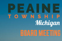 Peaine Township Board Meeting @ Peaine Township Hall