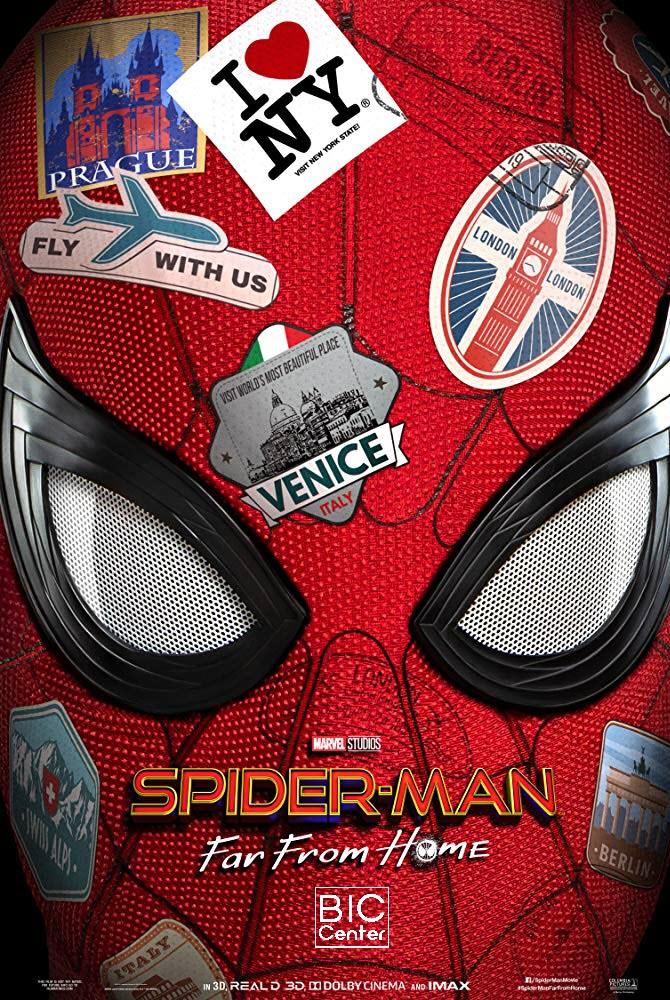 Spiderman Far from Home @ Beaver Island Community Center